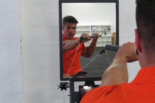 Spiegel für Ergometer