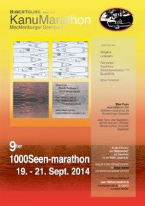 1000Seen Marathon 23.09. - 24.09.2017 Biber Tours, Diemitz
