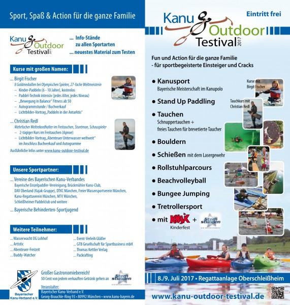 Testevent Lettmann 09.06.-10.06.2018 beim Kanu Testival München