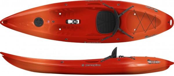 Scooter Comfort Wave Sport orange/rot