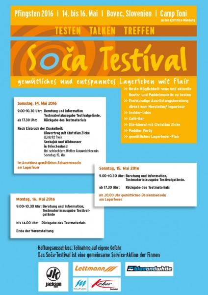 Soca Event vom 02.06. - 06.06.2017