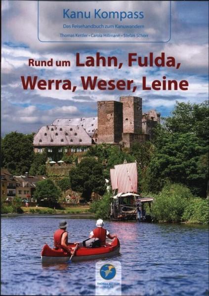 Kanu Kompass - Rund um Lahn, Fulda, Werra, Weser, Leine